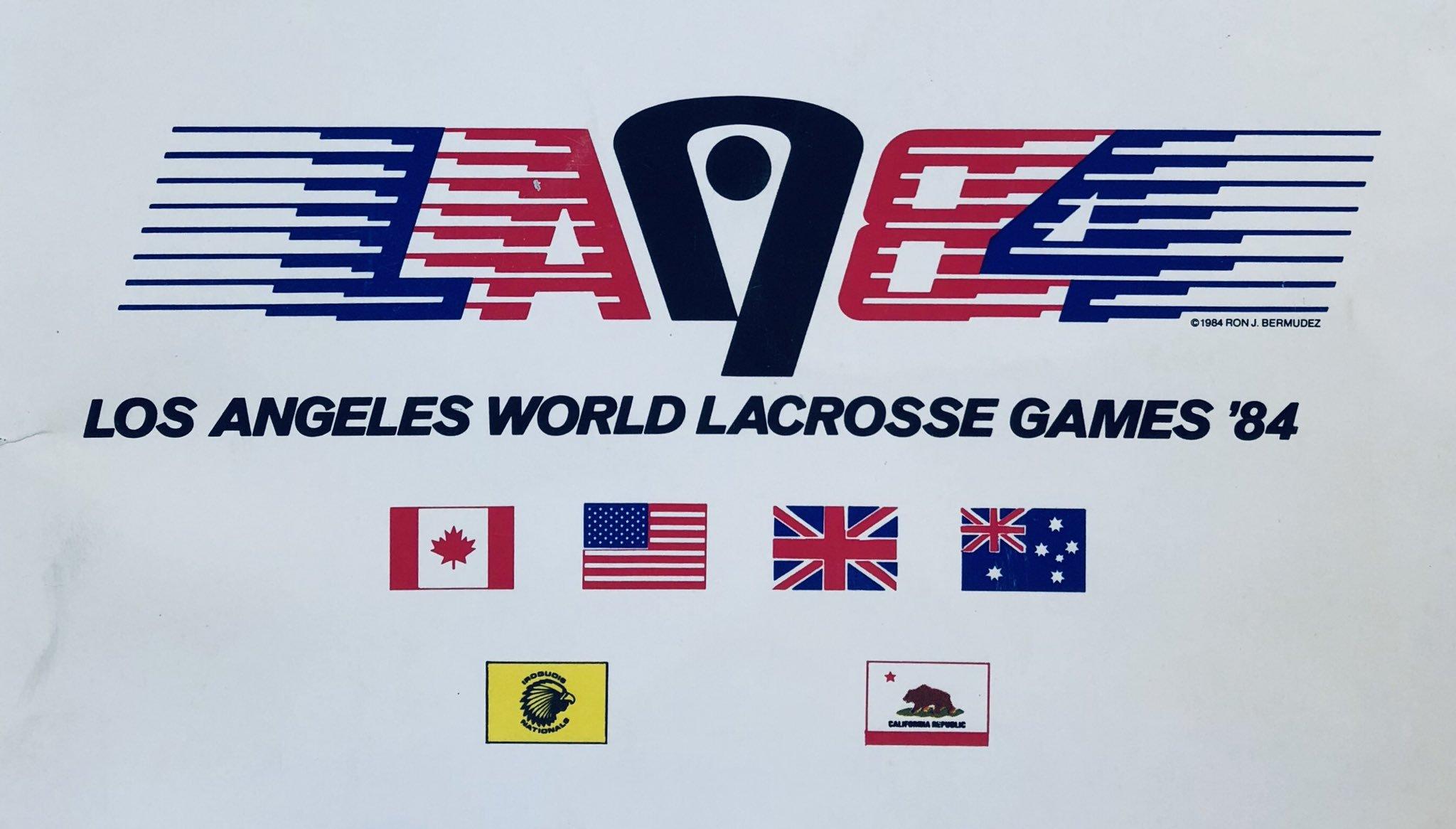 LOS ANGELES WORLD LACROSSE GAMES (1984)