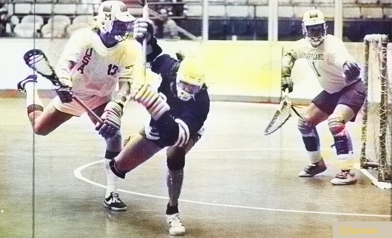 Promoter Finds Calling in Box Lacrosse