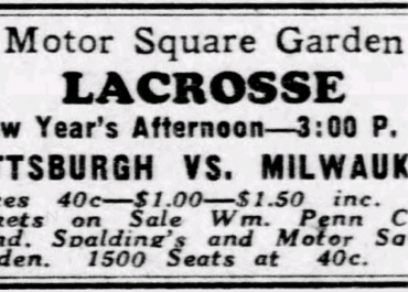 North American Professional Lacrosse Association (1933-34)