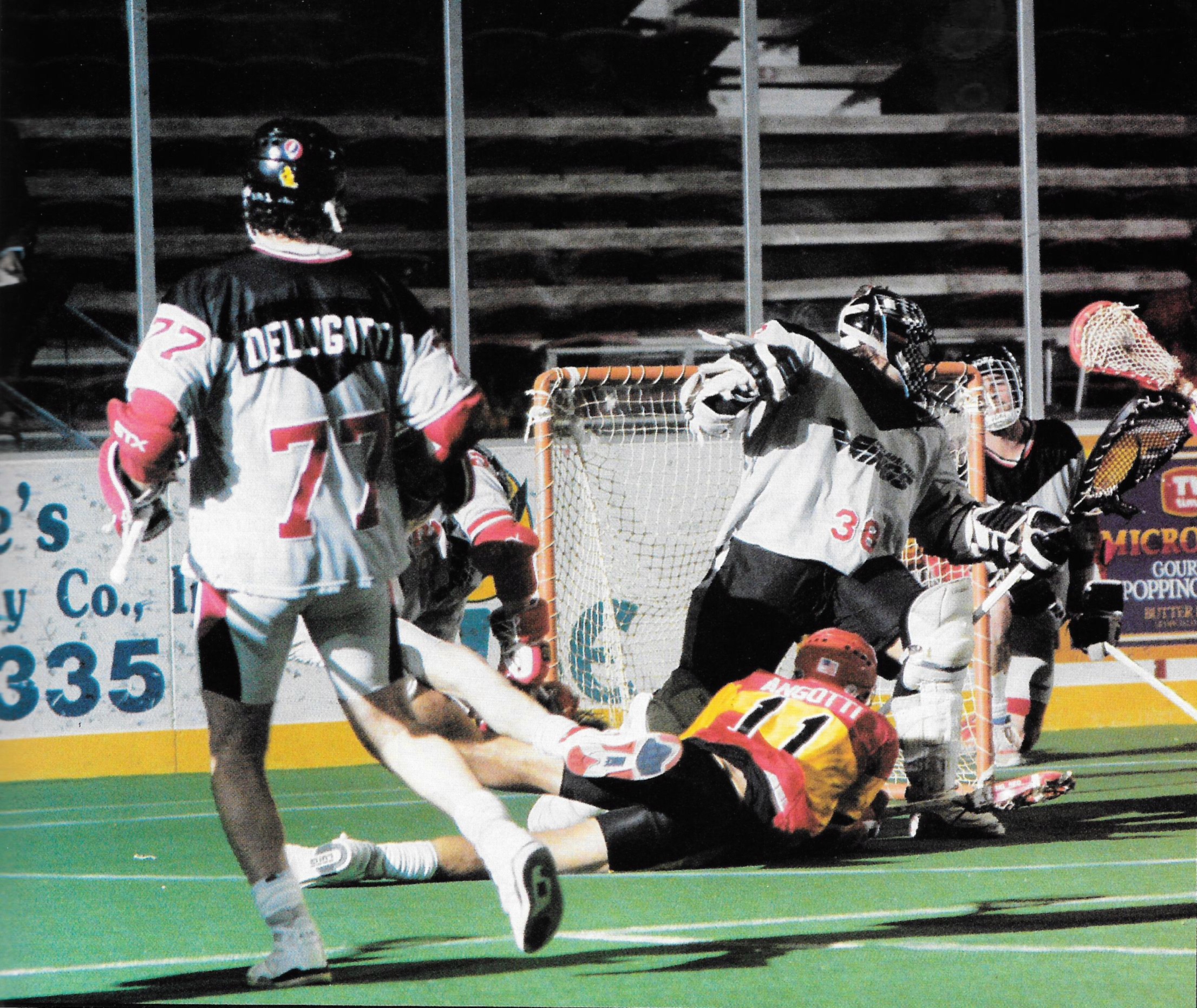 Indoor Lacrosse Players Dream Of The Big Time…